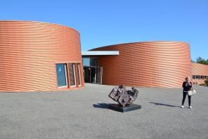 Le bâtiment de la poterie