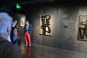 Avec Benoît Decron, conservateur du musée