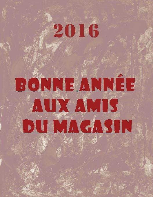 bonne année 2016 amis