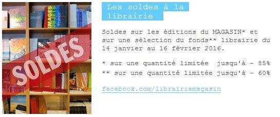librairie soldes
