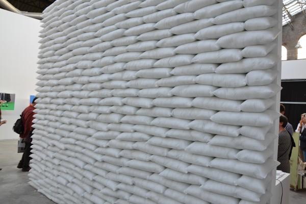 Un mur ...de légèreté (coussins)